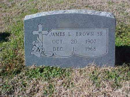BROWN SR, JAMES L - Cross County, Arkansas | JAMES L BROWN SR - Arkansas Gravestone Photos