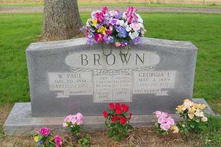 BROWN, W PAUL - Cross County, Arkansas | W PAUL BROWN - Arkansas Gravestone Photos
