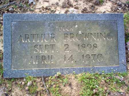 "BROWNING, ARTHUR ""DOCK"" - Cross County, Arkansas 