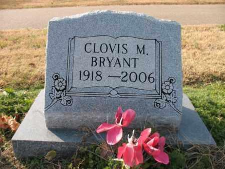 BRYANT, CLOVIS M - Cross County, Arkansas   CLOVIS M BRYANT - Arkansas Gravestone Photos