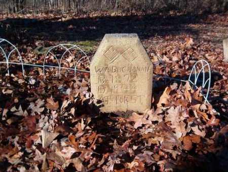 BUCHANAN, W. A. - Cross County, Arkansas   W. A. BUCHANAN - Arkansas Gravestone Photos