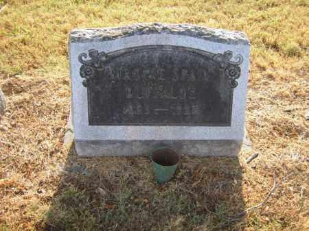 BUFFALOE, MAGGIE - Cross County, Arkansas | MAGGIE BUFFALOE - Arkansas Gravestone Photos