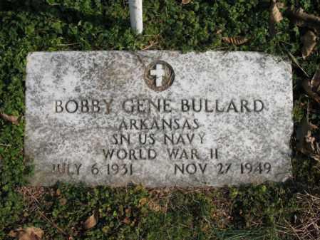BULLARD (VETERAN WWII), BOBBY GENE - Cross County, Arkansas   BOBBY GENE BULLARD (VETERAN WWII) - Arkansas Gravestone Photos