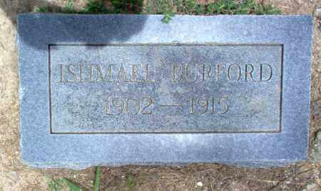 BURFORD, ISHMAEL - Cross County, Arkansas | ISHMAEL BURFORD - Arkansas Gravestone Photos