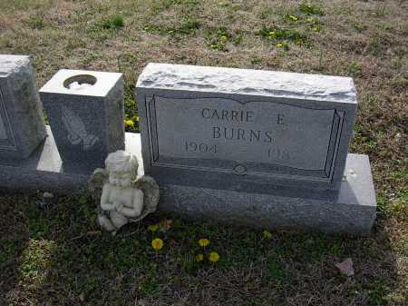 BURNS, CARRIE E - Cross County, Arkansas | CARRIE E BURNS - Arkansas Gravestone Photos