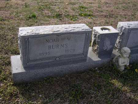 BURNS, NOAH W - Cross County, Arkansas | NOAH W BURNS - Arkansas Gravestone Photos