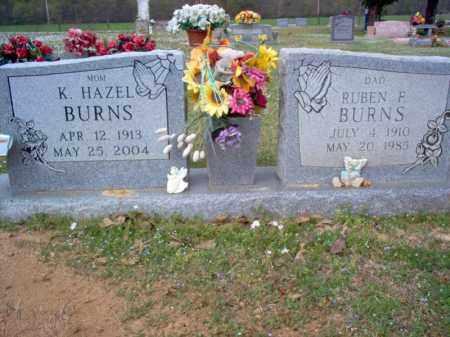 BURNS, RUBEN F - Cross County, Arkansas | RUBEN F BURNS - Arkansas Gravestone Photos
