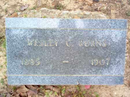 BURNS, WESLEY C - Cross County, Arkansas   WESLEY C BURNS - Arkansas Gravestone Photos