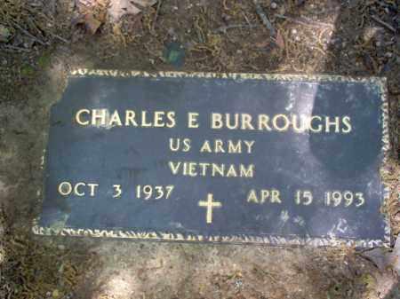 BURROUGHS  (VETERAN VIET), CHARLES E - Cross County, Arkansas | CHARLES E BURROUGHS  (VETERAN VIET) - Arkansas Gravestone Photos