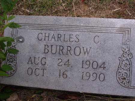 BURROW, CHARLES C - Cross County, Arkansas   CHARLES C BURROW - Arkansas Gravestone Photos