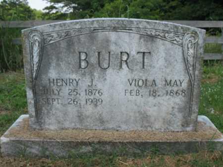 MAY BURT, VIOLA - Cross County, Arkansas | VIOLA MAY BURT - Arkansas Gravestone Photos