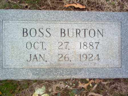BURTON, BOSS - Cross County, Arkansas | BOSS BURTON - Arkansas Gravestone Photos