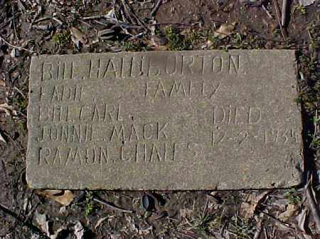 BURTON, BILL HALL FAMILY - Cross County, Arkansas | BILL HALL FAMILY BURTON - Arkansas Gravestone Photos