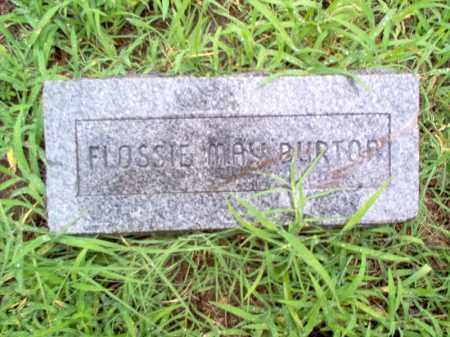 BURTON, FLOSSIE MAY - Cross County, Arkansas | FLOSSIE MAY BURTON - Arkansas Gravestone Photos
