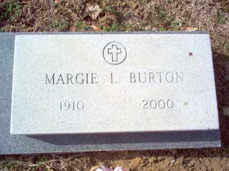 BURTON, MARGIE L - Cross County, Arkansas | MARGIE L BURTON - Arkansas Gravestone Photos