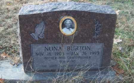 BURTON, NONA - Cross County, Arkansas | NONA BURTON - Arkansas Gravestone Photos