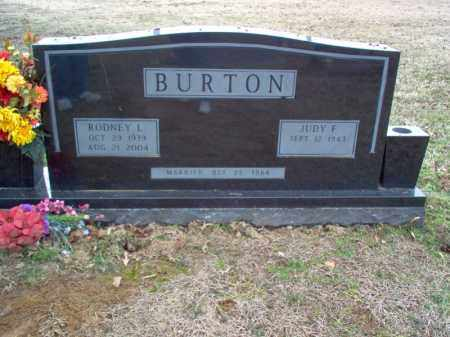 BURTON, RODNEY L - Cross County, Arkansas | RODNEY L BURTON - Arkansas Gravestone Photos
