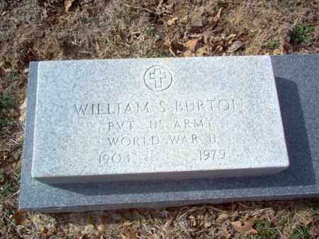 BURTON (VETERAN WWII), WILLIAM S - Cross County, Arkansas | WILLIAM S BURTON (VETERAN WWII) - Arkansas Gravestone Photos