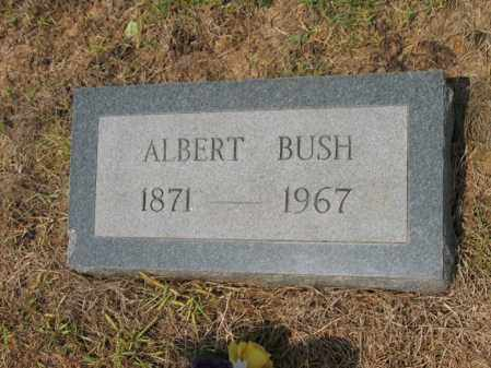 BUSH, ALBERT - Cross County, Arkansas | ALBERT BUSH - Arkansas Gravestone Photos