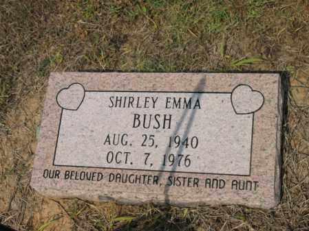 BUSH, SHIRLEY EMMA - Cross County, Arkansas | SHIRLEY EMMA BUSH - Arkansas Gravestone Photos