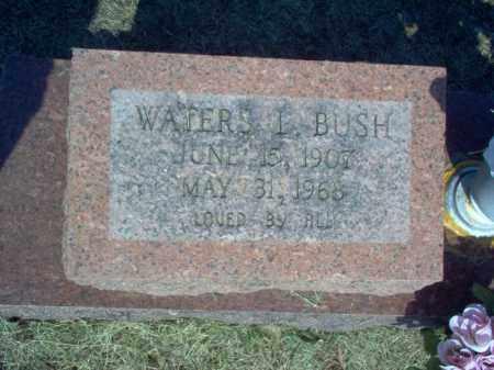 BUSH, WATERS L - Cross County, Arkansas   WATERS L BUSH - Arkansas Gravestone Photos