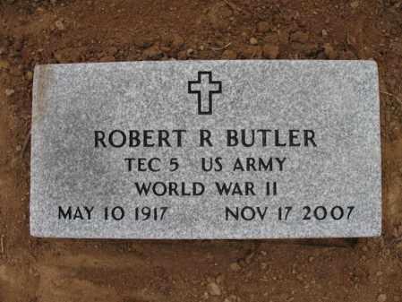 BUTLER (VETERAN WWII), ROBERT R - Cross County, Arkansas | ROBERT R BUTLER (VETERAN WWII) - Arkansas Gravestone Photos