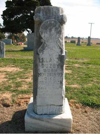 BUZBY, LELAND E - Cross County, Arkansas | LELAND E BUZBY - Arkansas Gravestone Photos