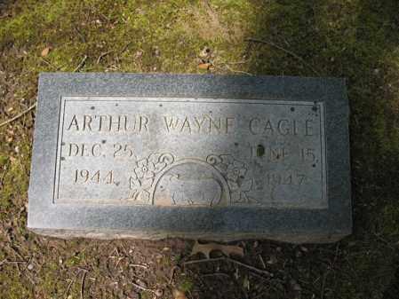 CAGLE, ARTHUR WAYNE - Cross County, Arkansas | ARTHUR WAYNE CAGLE - Arkansas Gravestone Photos