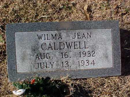 CALDWELL, WILMA JEAN - Cross County, Arkansas | WILMA JEAN CALDWELL - Arkansas Gravestone Photos