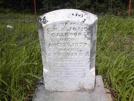 CALHOON, GEORGIE R - Cross County, Arkansas | GEORGIE R CALHOON - Arkansas Gravestone Photos