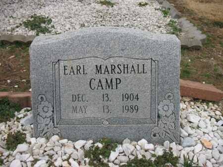 CAMP, EARL MARSHALL - Cross County, Arkansas | EARL MARSHALL CAMP - Arkansas Gravestone Photos