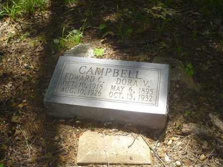 CAMPBELL, EDWARD C - Cross County, Arkansas | EDWARD C CAMPBELL - Arkansas Gravestone Photos