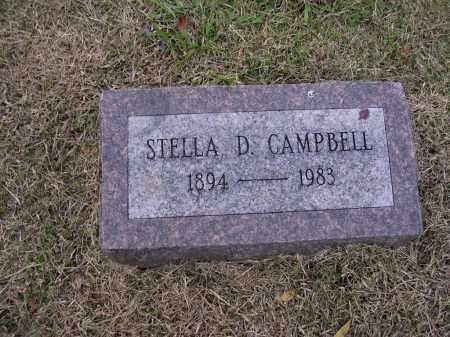 CAMPBELL, STELLA D - Cross County, Arkansas   STELLA D CAMPBELL - Arkansas Gravestone Photos