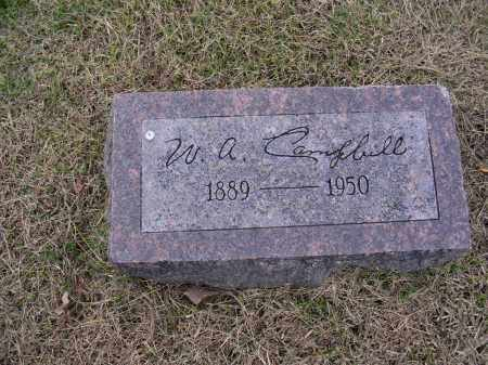 CAMPBELL, W A - Cross County, Arkansas   W A CAMPBELL - Arkansas Gravestone Photos