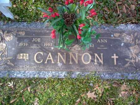 "CANNON, JOSEPH S ""JOE"" - Cross County, Arkansas | JOSEPH S ""JOE"" CANNON - Arkansas Gravestone Photos"