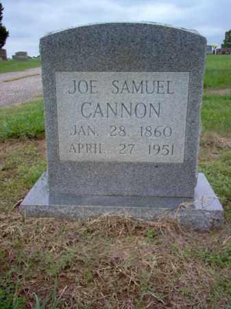 CANNON, JOE SAMUEL - Cross County, Arkansas | JOE SAMUEL CANNON - Arkansas Gravestone Photos
