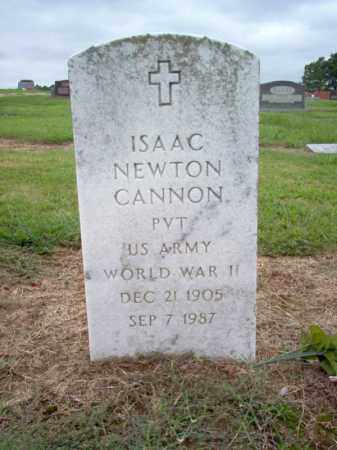 CANNON (VETERAN WWII), ISAAC NEWTON - Cross County, Arkansas | ISAAC NEWTON CANNON (VETERAN WWII) - Arkansas Gravestone Photos
