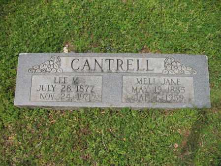 CANTRELL, MELL JANE - Cross County, Arkansas | MELL JANE CANTRELL - Arkansas Gravestone Photos