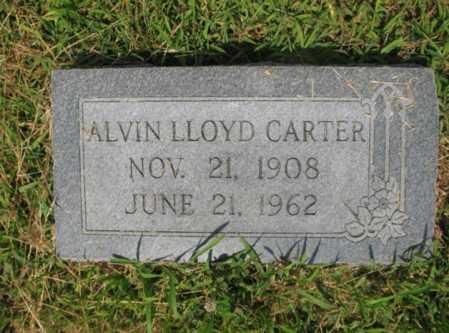 CARTER, ALVIN LLOYD - Cross County, Arkansas   ALVIN LLOYD CARTER - Arkansas Gravestone Photos