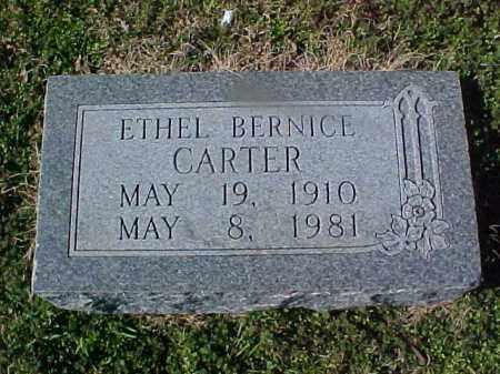 CARTER, ETHEL BERNICE - Cross County, Arkansas | ETHEL BERNICE CARTER - Arkansas Gravestone Photos