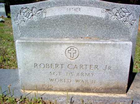 CARTER, JR (VETERAN WWII), ROBERT - Cross County, Arkansas | ROBERT CARTER, JR (VETERAN WWII) - Arkansas Gravestone Photos