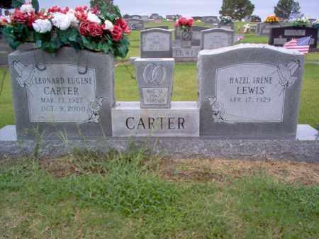 CARTER, LEONARD EUGENE - Cross County, Arkansas | LEONARD EUGENE CARTER - Arkansas Gravestone Photos