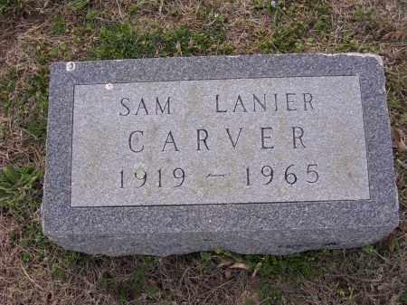 CARVER, SAM LANIER - Cross County, Arkansas | SAM LANIER CARVER - Arkansas Gravestone Photos