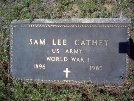 CATHEY  (VETERAN WWI), SAM LEE - Cross County, Arkansas | SAM LEE CATHEY  (VETERAN WWI) - Arkansas Gravestone Photos