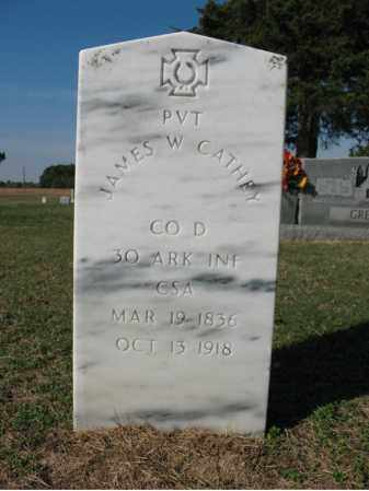 CATHEY (VETERAN CSA), JAMES W - Cross County, Arkansas   JAMES W CATHEY (VETERAN CSA) - Arkansas Gravestone Photos
