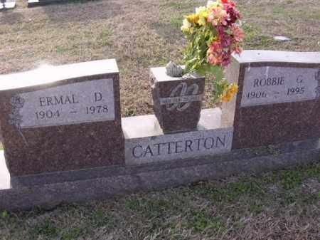 CATTERTON, ERMAL D - Cross County, Arkansas | ERMAL D CATTERTON - Arkansas Gravestone Photos