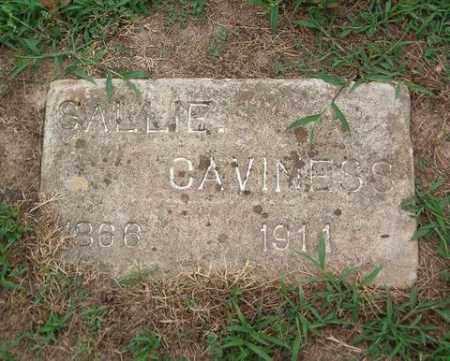 CAVINESS, SALLIE - Cross County, Arkansas | SALLIE CAVINESS - Arkansas Gravestone Photos