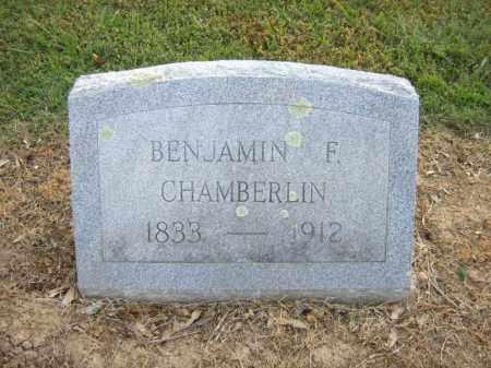 CHAMBERLIN, BENJAMIN F - Cross County, Arkansas   BENJAMIN F CHAMBERLIN - Arkansas Gravestone Photos