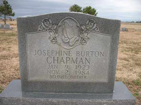 CHAPMAN, JOSEPHINE - Cross County, Arkansas | JOSEPHINE CHAPMAN - Arkansas Gravestone Photos