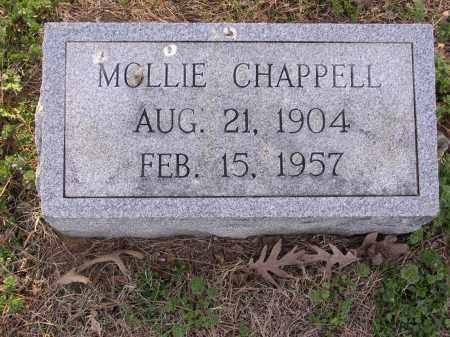 CHAPPELL, MOLLIE - Cross County, Arkansas | MOLLIE CHAPPELL - Arkansas Gravestone Photos